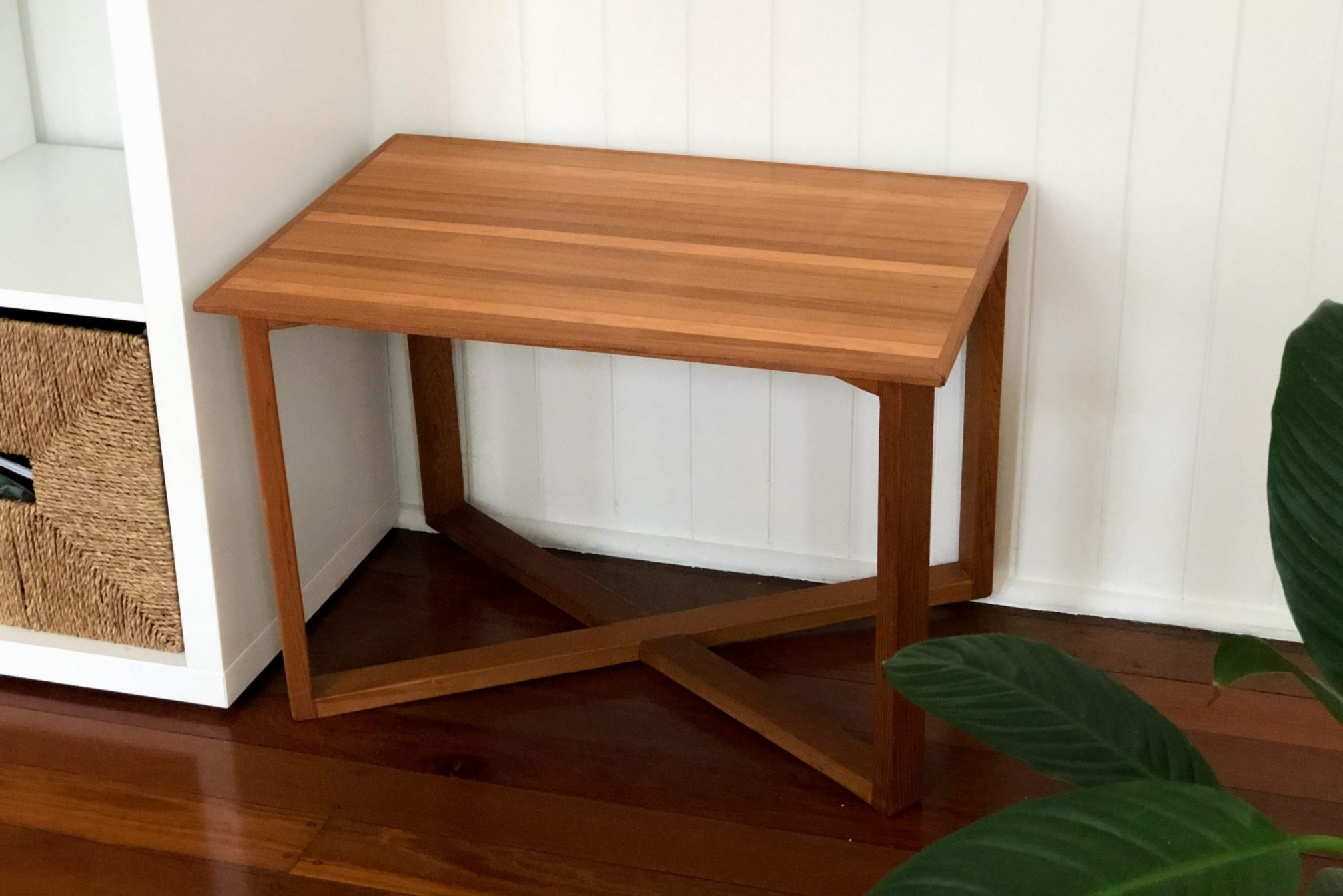 Custom timber side tables