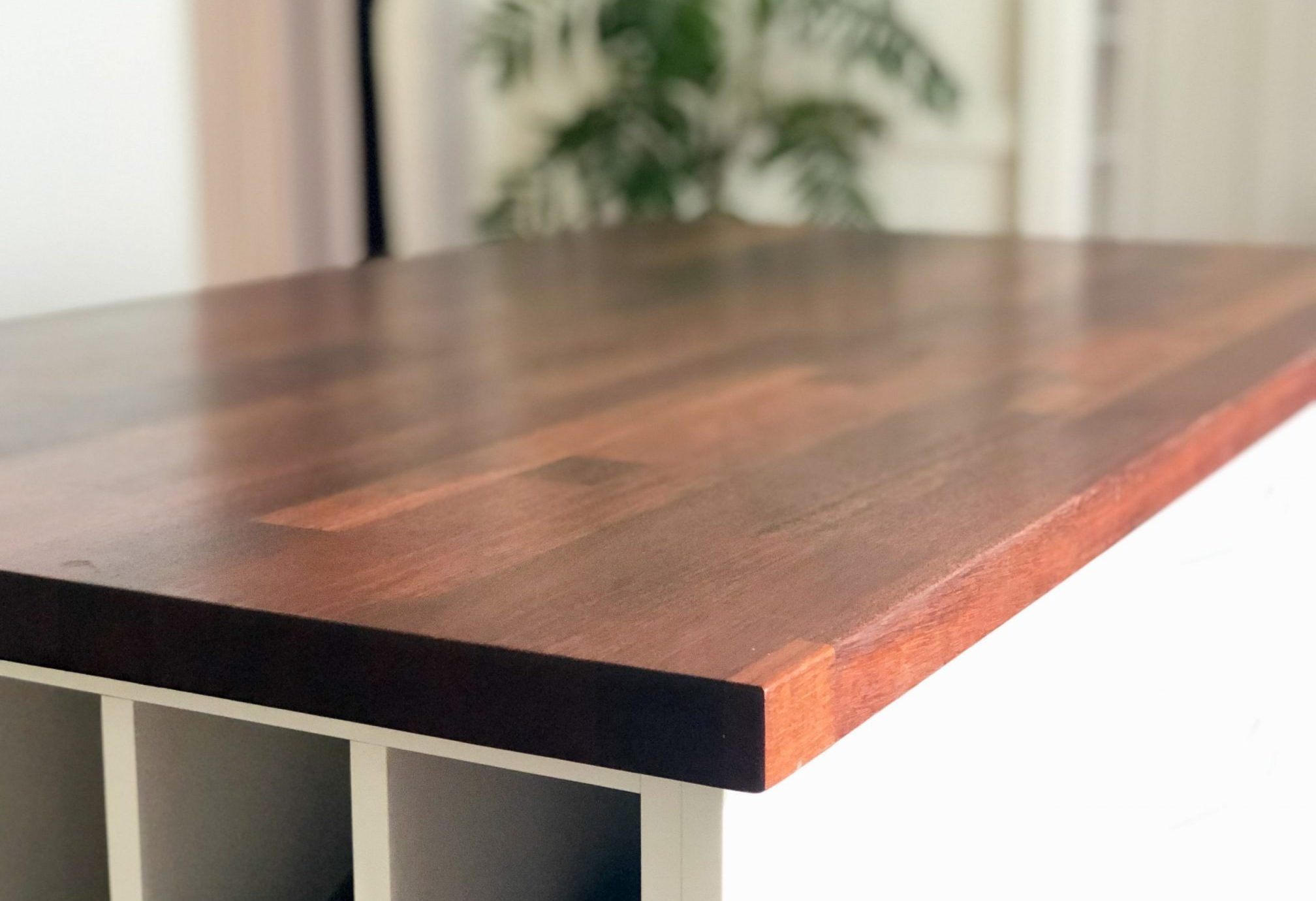 Timber kitchen benches