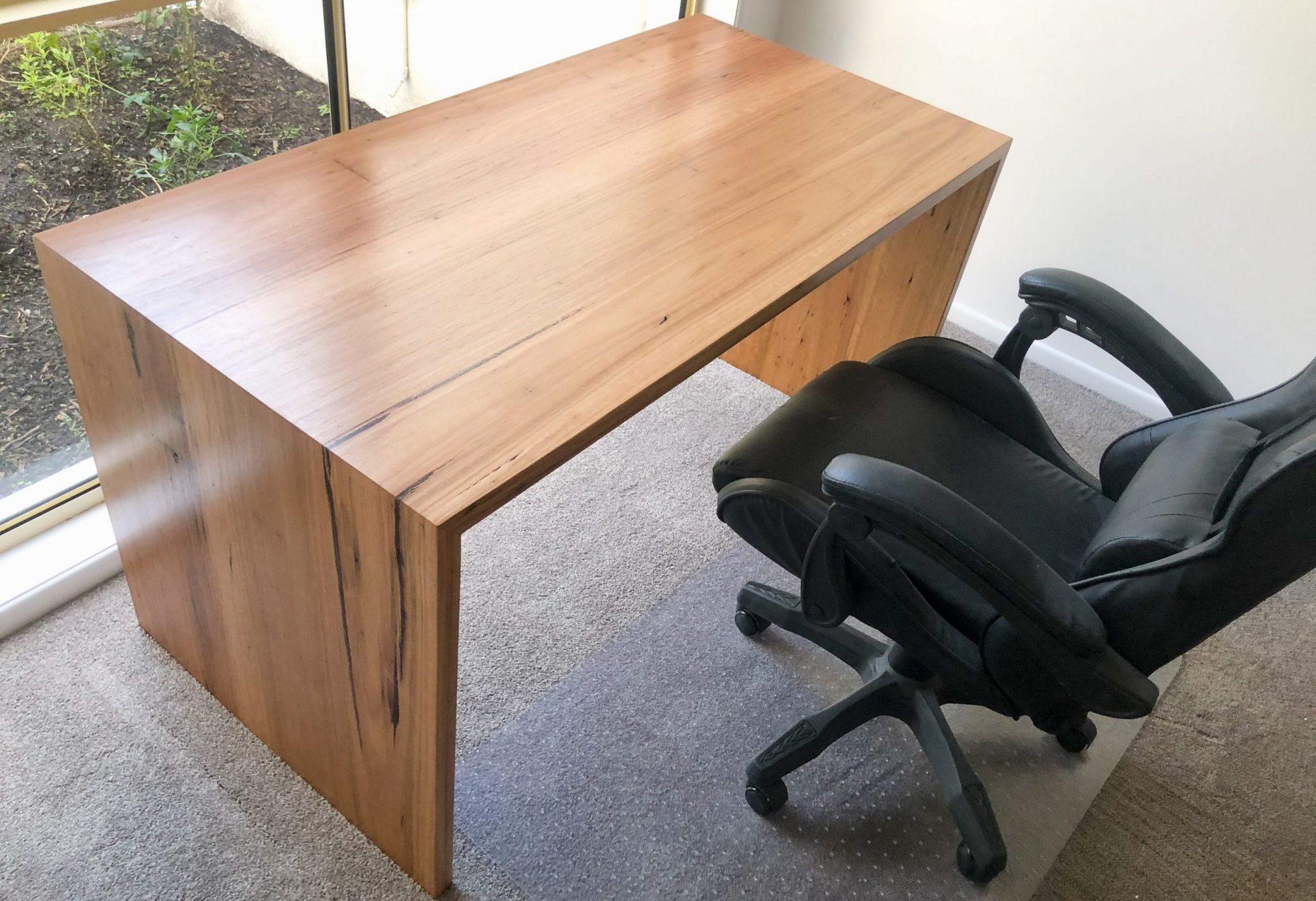 Timber Blackbutt desk