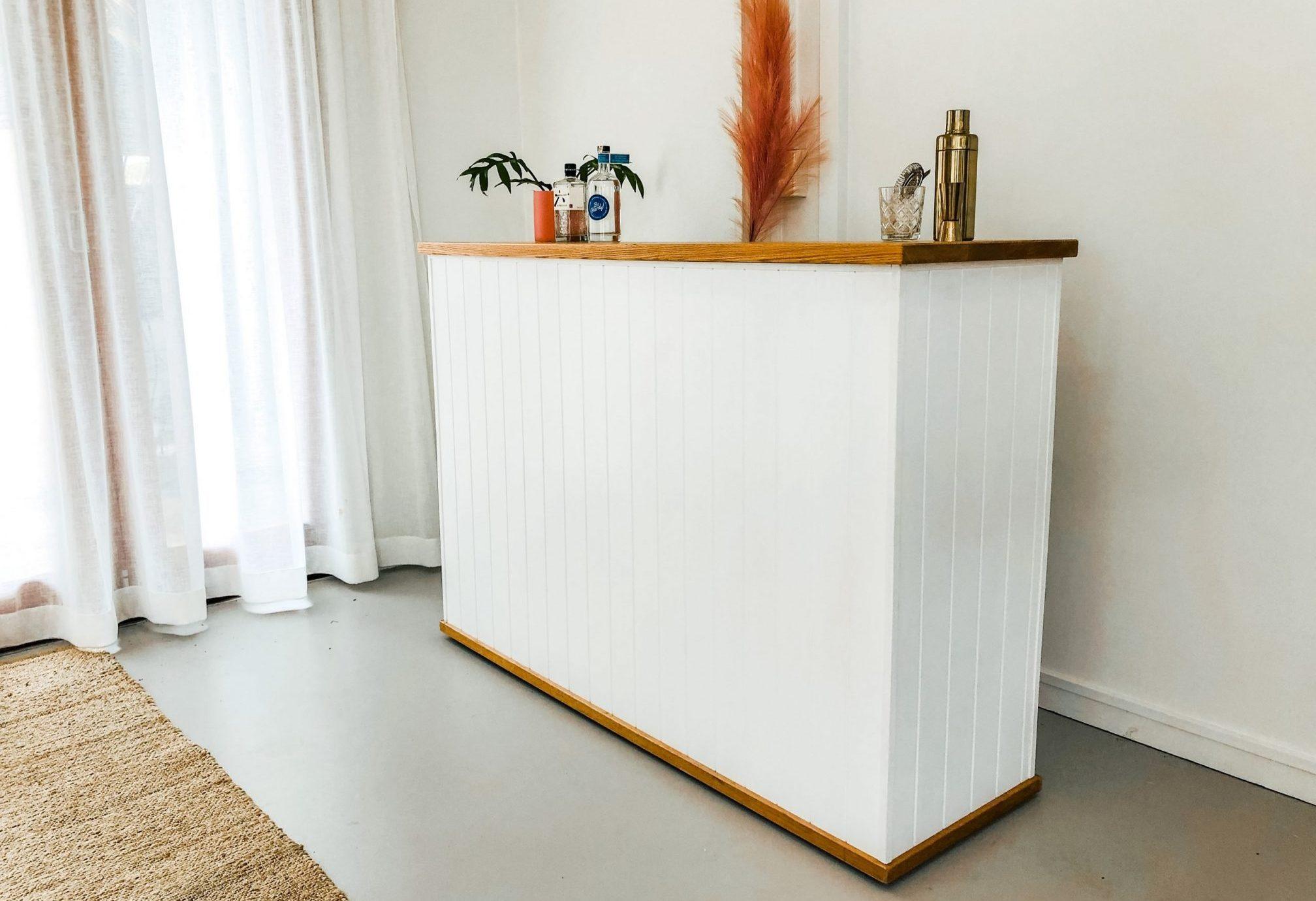 Portable timber bar