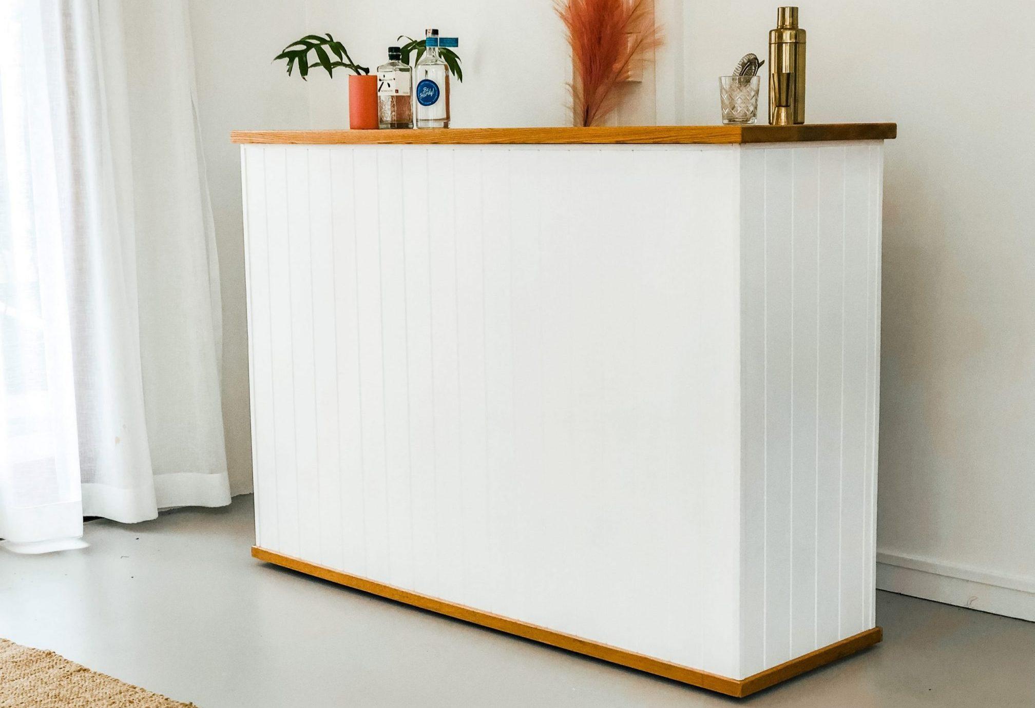 Custom timber bar