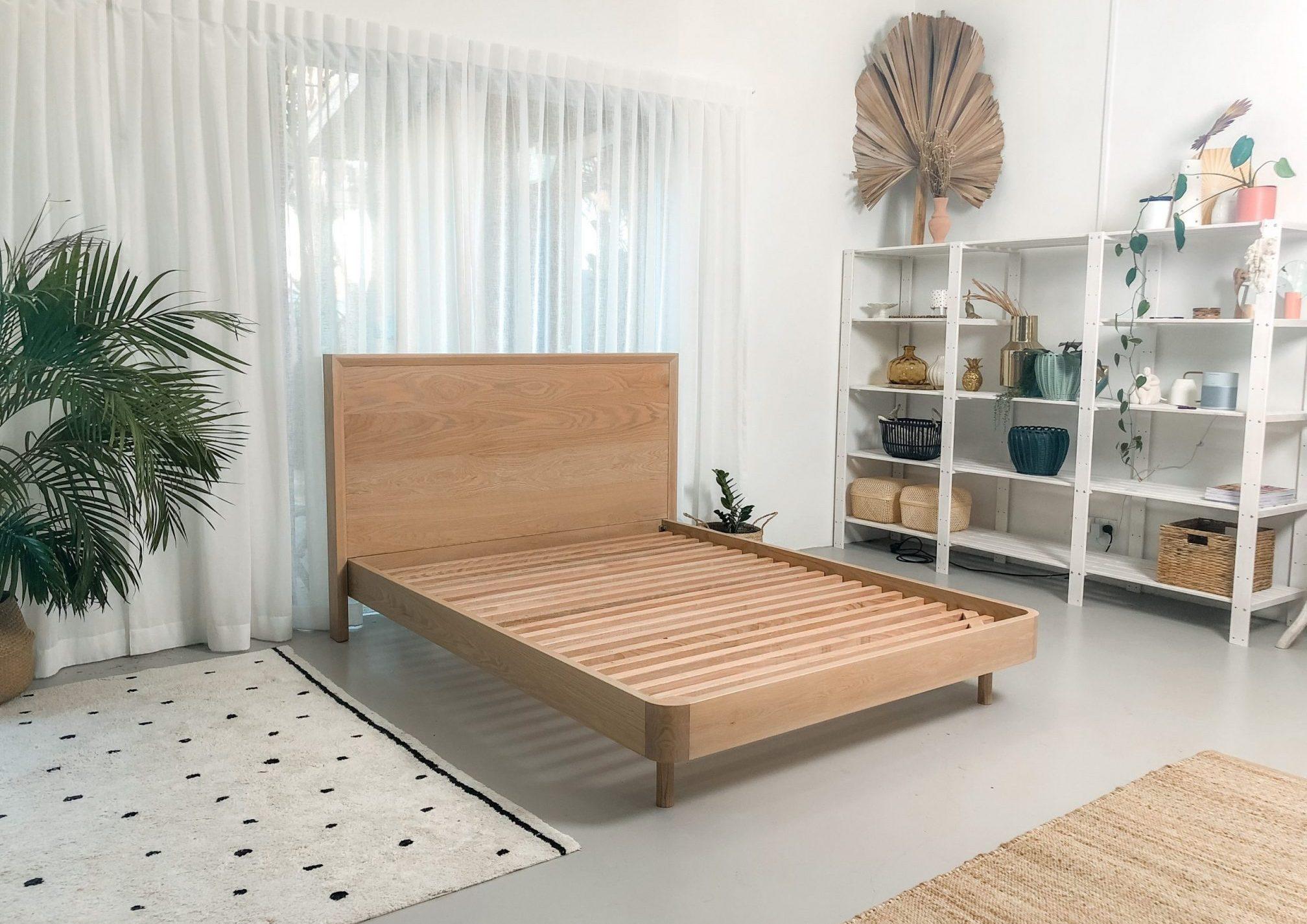 Custom timber bed