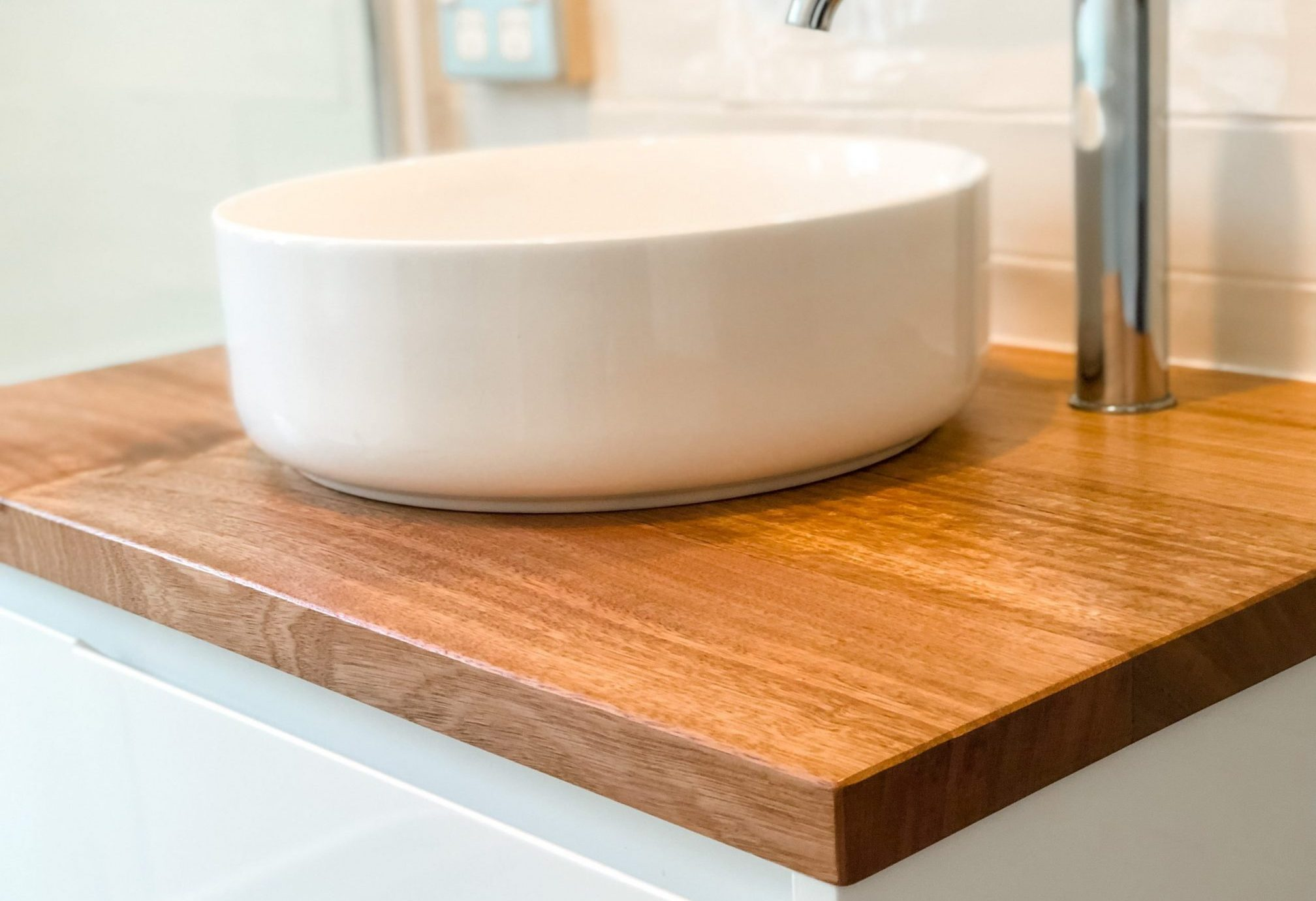 Timber bathroom vanity products