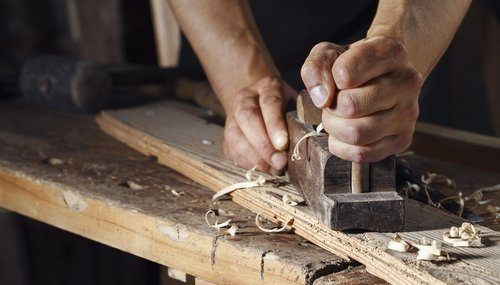 traditional timber work